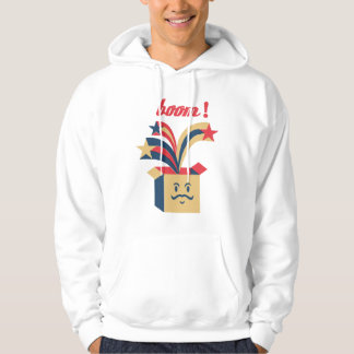 Box Moustaches Hoodie