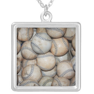 Box of Baseballs Necklaces