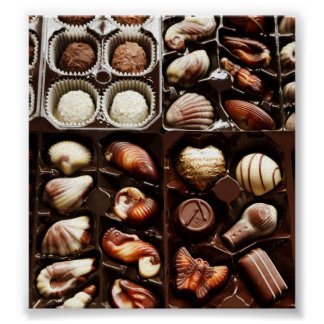 Box of Chocolate Poster