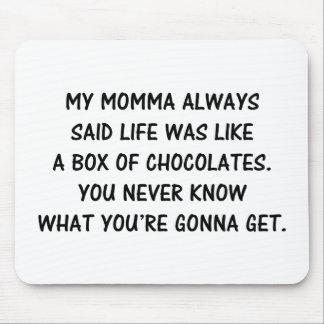 Box of Chocolates Mouse Mat