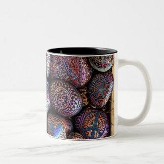 Box of Rocks Mug! Two-Tone Coffee Mug