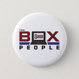 Box People 6 Cm Round Badge