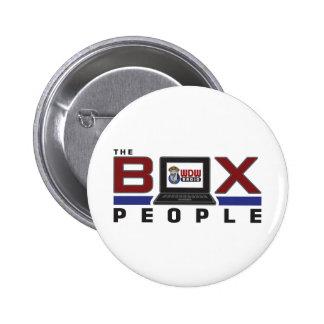 Box People 6 Cm Round Badge