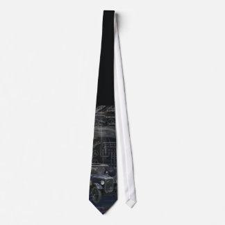 Box Saloon Tie