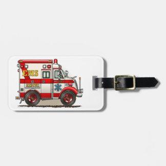 Box Truck Ambulance Luggage Tag