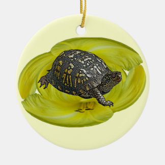 Box Turtle Christmas Ornament