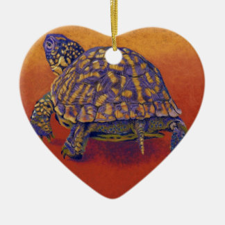 Box Turtle, tortoise Christmas Ornament