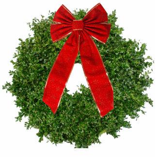 Box Wood Wreath Magnet Acrylic Cut Out