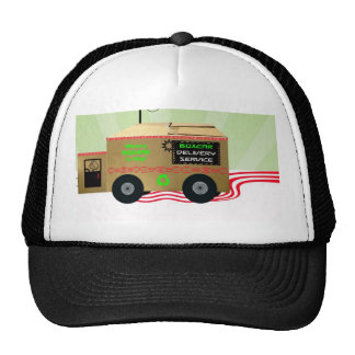 Boxcar Delivery Service Hat