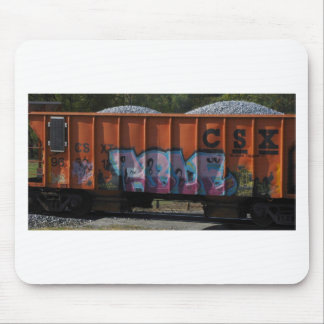 Boxcar Tagged Mouse Pad