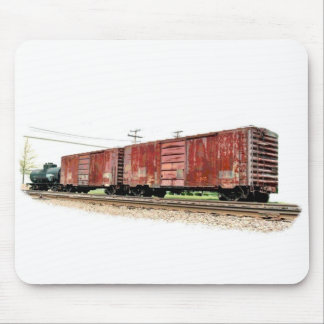Boxcars Mouse Pad