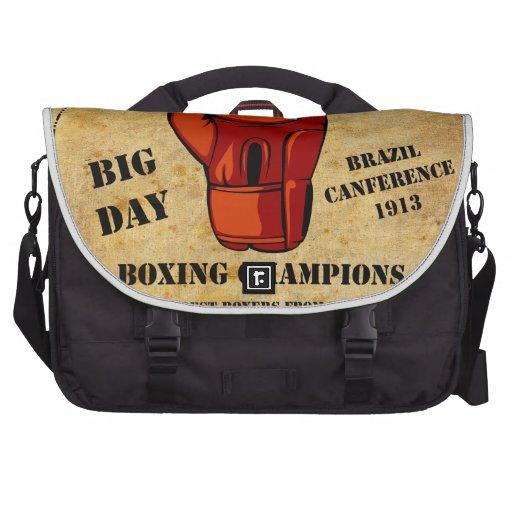 Boxe Champions Laptop Messenger Bag