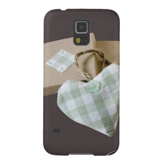 Boxed Heart Save the Date Galaxy S5 Cover
