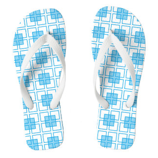 Boxed In Turquoise Flip Flops