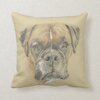Boxer Art Cushion