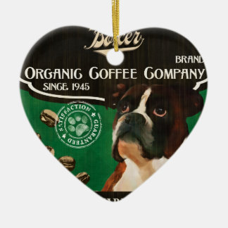 Boxer Brand – Organic Coffee Company Ceramic Heart Decoration