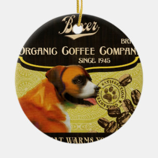 Boxer Brand – Organic Coffee Company Christmas Ornament