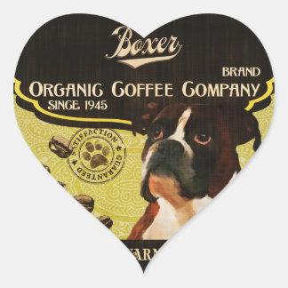 Boxer Brand – Organic Coffee Company Heart Sticker