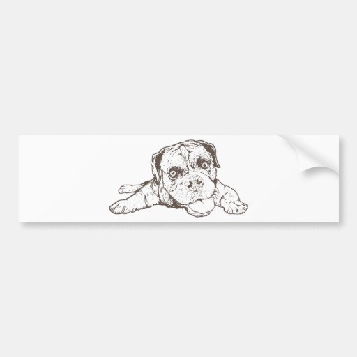 Boxer Bumper Stickers