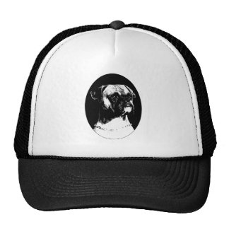 Boxer cap mesh hat