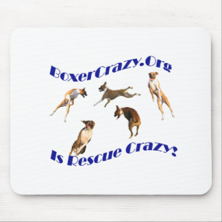 Boxer Crazy Mousepad - Air Abby