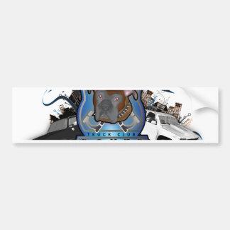 Boxer Customs Bumper Sticker
