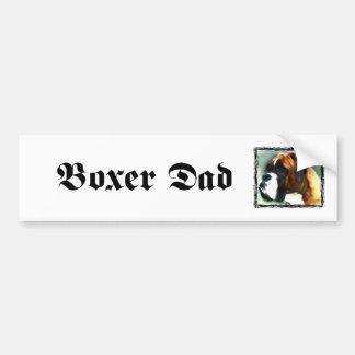 Boxer Dad bumper sticker