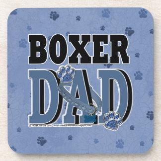 Boxer DAD Drink Coaster