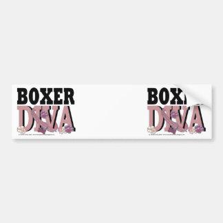 Boxer DIVA Bumper Sticker
