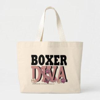 Boxer DIVA Canvas Bags