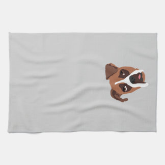 "Boxer Dog 16"" x 24"" Kitchen Towel"