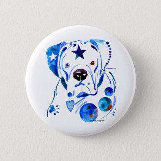 Boxer Dog 6 Cm Round Badge