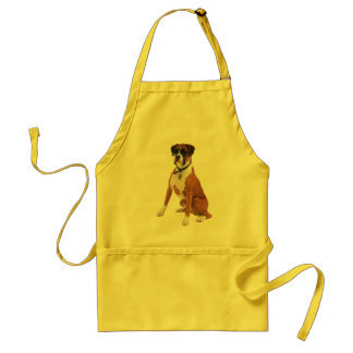 BOXER DOG Apron