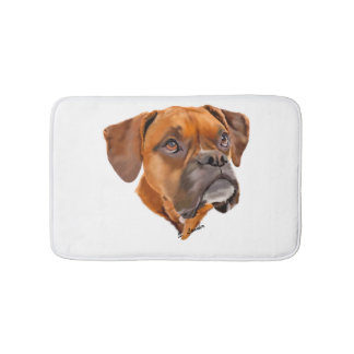 Boxer Dog Bath Mat
