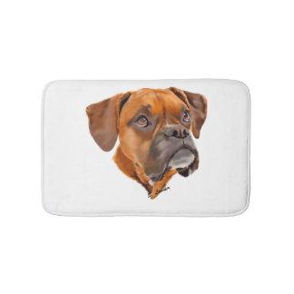 Boxer Dog Bath Mats