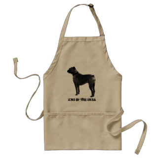 Boxer dog BBQ apron | King of the grill