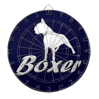 Boxer dog dart board