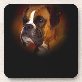 Boxer Dog Drink Coasters