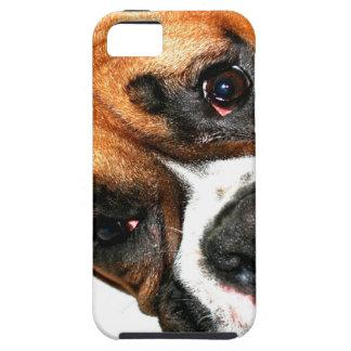 Boxer dog eyes tough iPhone 5 case