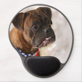 Boxer dog gel mouse mat