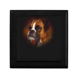 Boxer Dog Gift Box