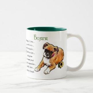 Boxer Dog Gifts Two-Tone Coffee Mug