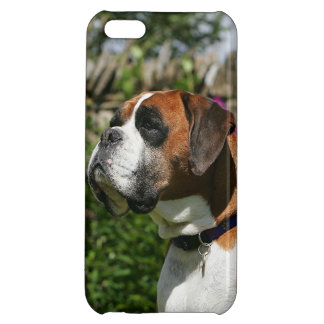 Boxer Dog in the Flowers iPhone 5C Cover
