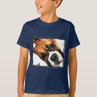 Boxer dog kids t-shirt