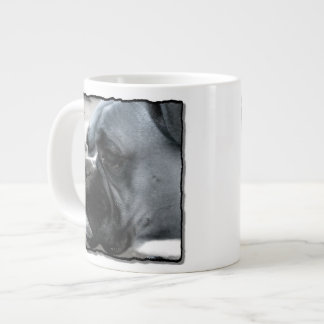 Boxer dog large coffee mug