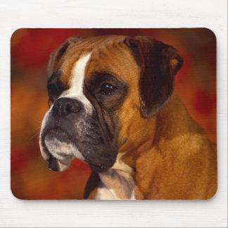 Boxer dog mouse mat