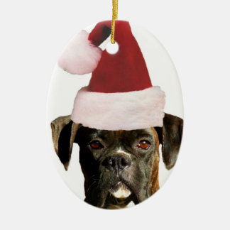 Boxer dog ornament