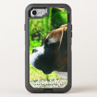 Boxer dog Otterbox phone OtterBox Defender iPhone 8/7 Case