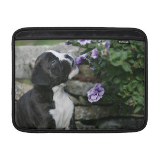 Boxer Dog Panting Sleeve For MacBook Air