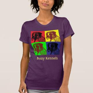 Boxer Dog Pop Art customizable T-Shirt